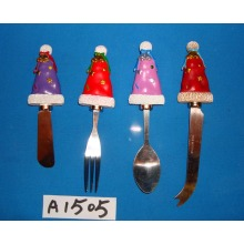 Christmas Decoration Spreader with Santa′s Hat Handle