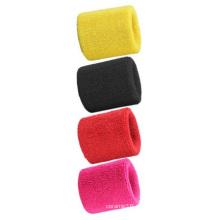 Großhandel Handtücher Wristbands, absorbieren Schweißbänder Multi-Color Customized Logo