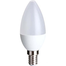 CE, RoHS LED velas lâmpada C30 6.5 w 560lm