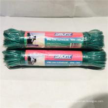 Grüne PVC Wäscheleine mit Outdoor / Indoor