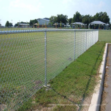 PVC Coated Chain Link Fence/Diamond Mesh Fence