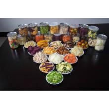 Chips de légumes et de fruits mélangés à haute qualité