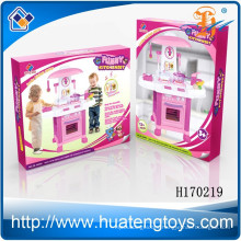 High quality funny toys kitchen play set plastic mini kitchen set toy for kids for wholesale