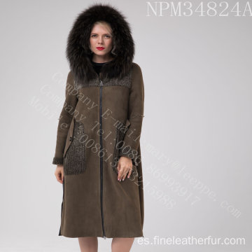 Winter Lady Australia Merino Shearling largo abrigo