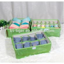 Drawer Dividers Closet Organizers Bra Underwear Storage Boxes with 3 sets