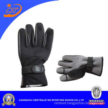 Competive Price Neoprene Fishing Gloves (67847)