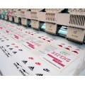 15 Köpfe 9 Nadeln Kommerzielle Flachbett Stickmaschine, Servo Motor