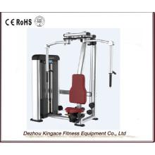 Machine commerciale de presse de coffre de type de papillon d'équipement de gymnase