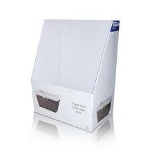 Reusable Corrugated Storage Box, Paperboard Counter Basket
