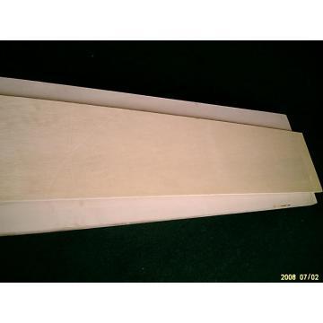 Chapa laminada de la madera para muebles