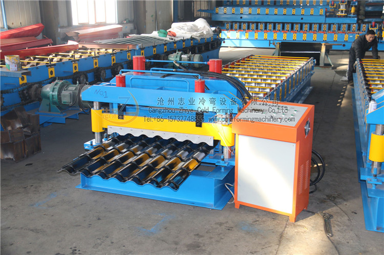 Glazed Tile Profiles Machine