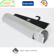 100% poliéster tafetá Blackout tecido para cortina /Car corpo cobre revestida de prata