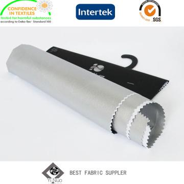 Silber beschichtet, 100 % Polyester Taft Blackout Stoff für Vorhang 110,-Körper Abdeckungen
