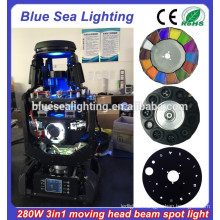 280w robe 10R 3-in-1 beam spot wash cheap moving head lights