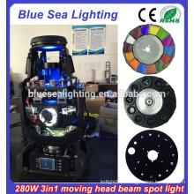 280w roupão 10R 3-em-1 feixe spot lavar barato movendo cabeça luzes