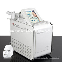 La mesoterapia más caliente sin máquinas de aguja Inyección de blanqueamiento facial Sistema de formación de SPA V facial con máscara LED