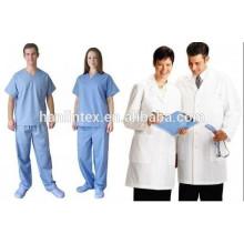 Uniforme Escolar Uniforme Tecido / Enfermeira Tecido Uniforme / 140gsm TC Tecido 32 * 32 130 * 70