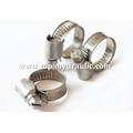 High pressure steel black hose small hose clamps