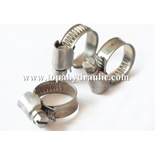 Worm gear hose wire hose steel clamps