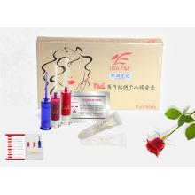 Kit de tinta para tatuagem sênior conjunto de pigmento permanente de tatuagem para lábios