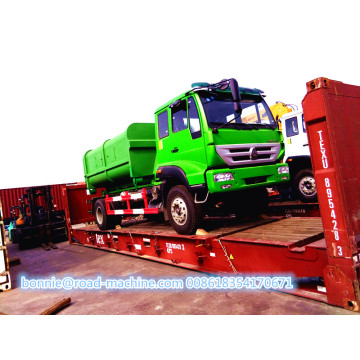Hot sale Hydraulic Hook Arm Lift Garbage Truck