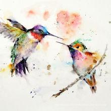 Pintura Animal Abstracta