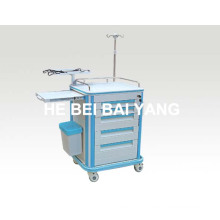 B-58 ABS Emergency Trolley/Hospital ABS Trolley