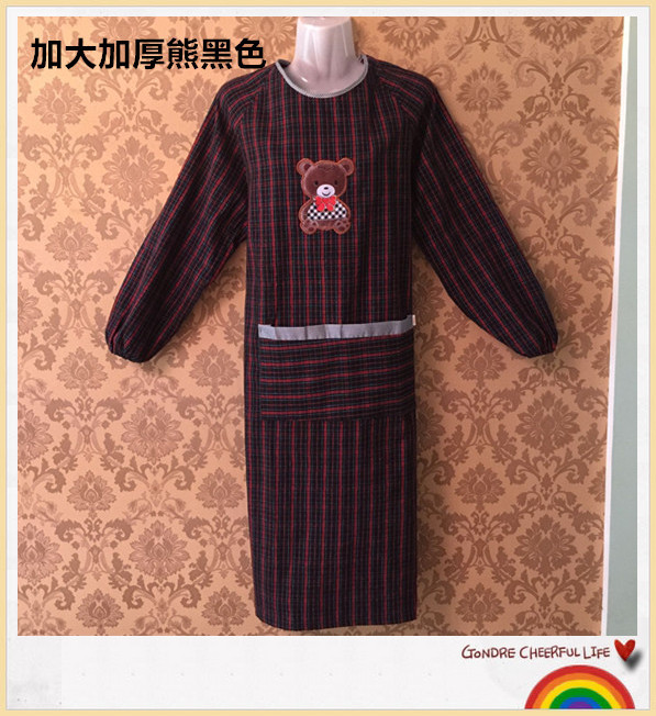 Work Wear Retardant Apron Long Sleeves
