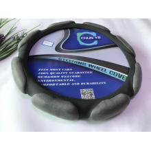 SUBARU suede fabric steering wheel cover