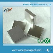 Блок неодимовых постоянных магнитов 50 мм X 50 мм X 20 мм