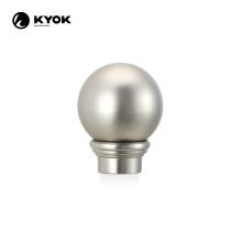 KYOK bird crown polished nickel ball and finial