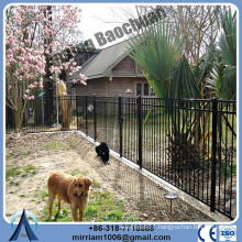 Pickets 25*25mm square*1.2mm wall thickness wrought iron fence supplier