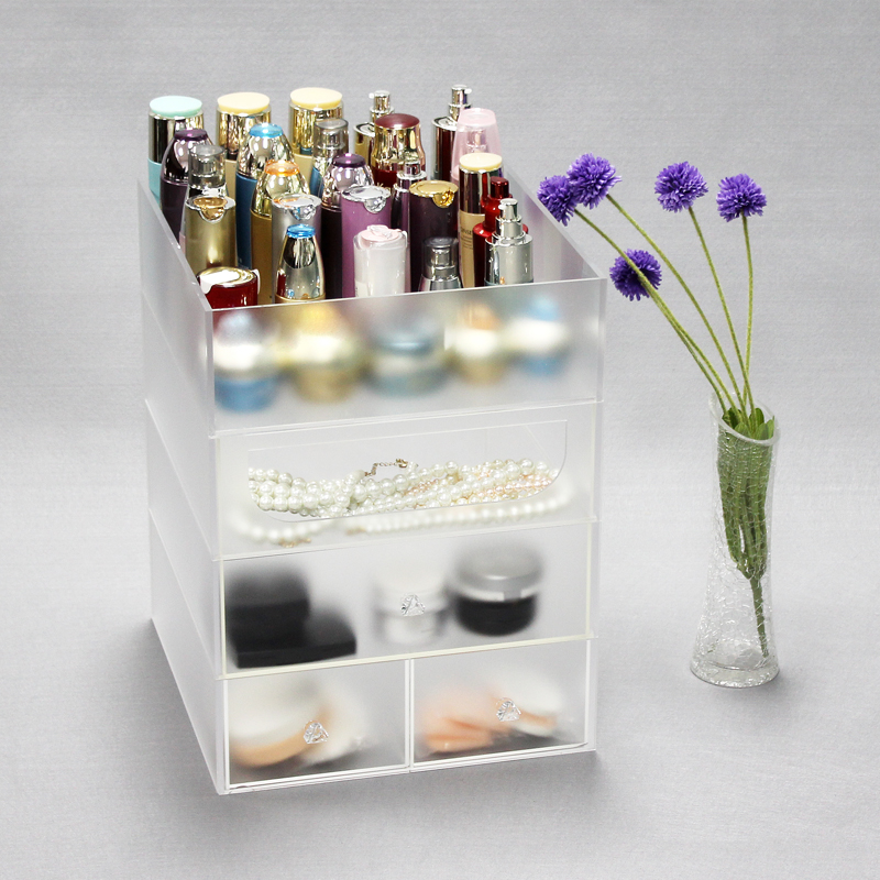 Goedkope Clear Acrylic Makeup Organizer