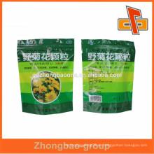 Bolsas de embalaje de plástico excelentes para medicamentos disueltos con cremallera con precio EXW