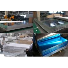 5052 5083 6061 Feuille d'alliage d'aluminium simple