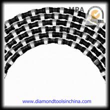 Serra de arame de diamante para aço de pedra