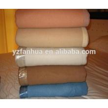 Укомплектованный хаки шерстяные волокна отель и военные использовали одеяла оптом