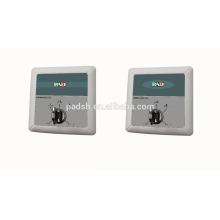Interruptor de cinco teclas para porta automática