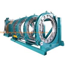 CE aprobó la máquina de soldadura del extremo de la fusión del calor del tubo de HDPE