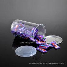 Haustier-Plastikring-Pull Süßigkeit-Dose mit Plastikdeckel (PPC-CSRN-036)