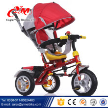 wholesale baby push tricycle kids smart trike/3 wheel toys trike bike for baby/push carrier baby trike stroller