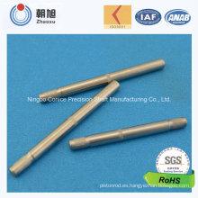 Eje de propulsión de la precisión del CNC del fabricante de China que trabaja a máquina