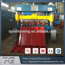 Rodillo de chapa galvanizado automático de la costura de la colocación automática que forma la máquina