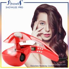 Steam Spray Portable Hair Curler LCD Screen Hair Curling Iron