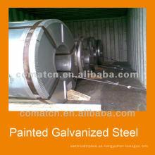 China acero galvanizado para construcción, plantas de china