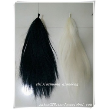 Dyed Black Horse Tail Hair Extension