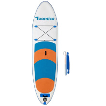 SUNGOOLE Thick Surfboard Inflatable Paddle Board Ultralight Standing Premium SUP Accessories and Tote Design Carbon Paddle