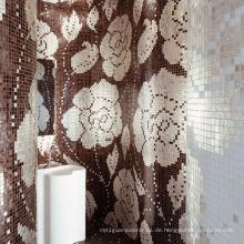 Mosaik Bild Hand geschnitten