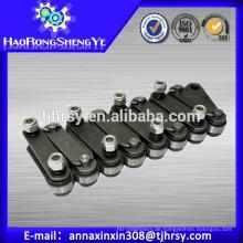 P152.4mm solide Pin gerade Platte Palme Ölketten
