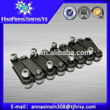 Pitch 101.6mm Palm Oil Cadenas con placa recta (Solid Pin)